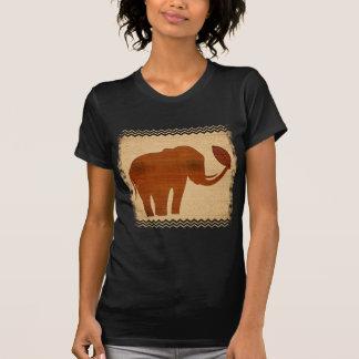 Elephant Tribal Art Design T Shirt