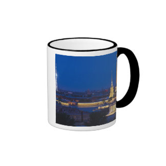 Elevated view of the Television Tower Ringer Mug