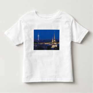 Elevated view of the Television Tower Tee Shirts