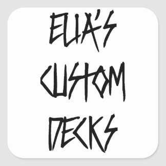 elias custom decks violent logo sticker