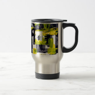 Elle-abstract-010-1620-Original-Abstract-Art-untit Stainless Steel Travel Mug
