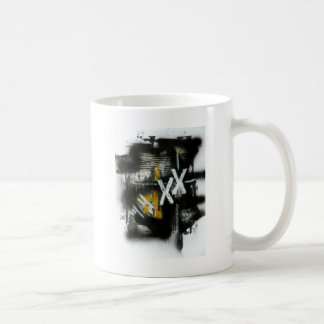 Elle-abstract-021-1620-F-Original-Abstract-Art-XX. Basic White Mug