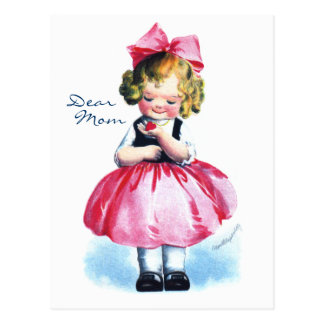 Ellen H. Clapsaddle: Girl with Heart Postcard