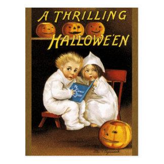 Ellen H. Clapsaddle: Thrilling Halloween Postcard