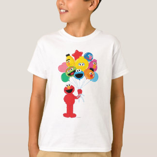 Elmo Balloons T-shirts