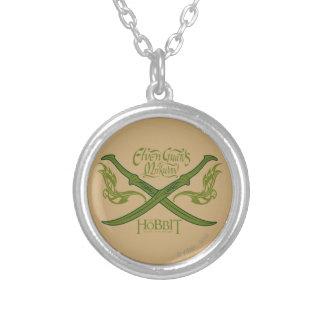 Elven Guards of Mirkwood Movie Icon Round Pendant Necklace