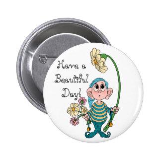 Elvin Cutie 6 Cm Round Badge