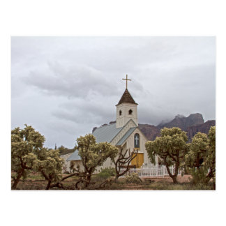 Elvis church at the Superstition mountains Postcard