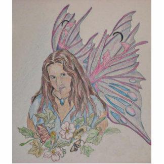 Em A Fairy Standing Photo Sculpture
