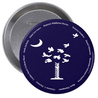 Emanuel Nine 10 Cm Round Badge