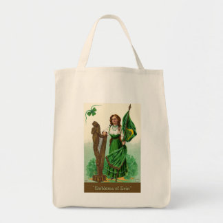 Emblems of Erin Grocery Tote Bag