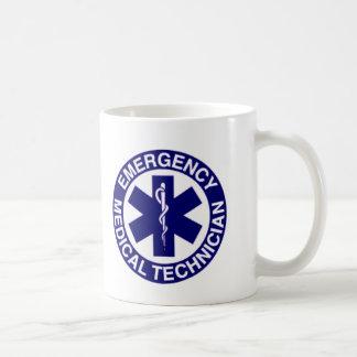 EMERGENCY MEDICAL TECHNICIANS EMT BASIC WHITE MUG