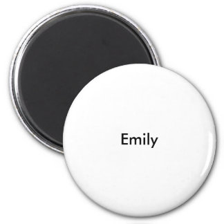 Emily 6 Cm Round Magnet