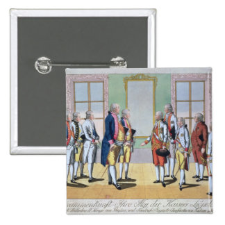 Emperor Leopold II 15 Cm Square Badge