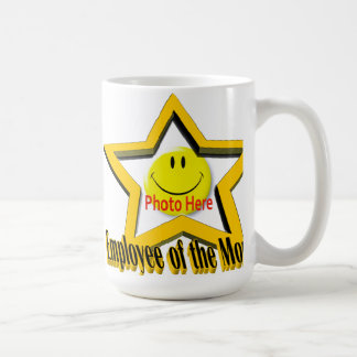 Employee of the Month Star & Photo Mug