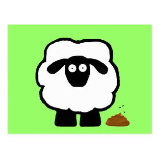 Empty Sheep Postcards