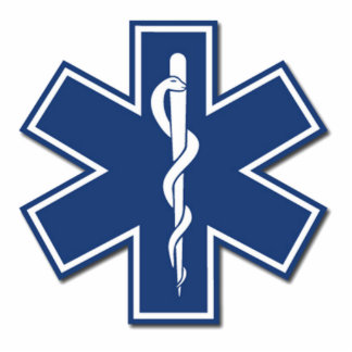 EMS Star of Life Photo Sculpture Decoration
