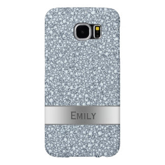 Encrusted Diamonds Look Glitter Patter Samsung Galaxy S6 Cases