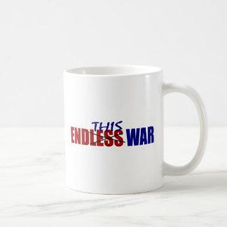 End This War Basic White Mug