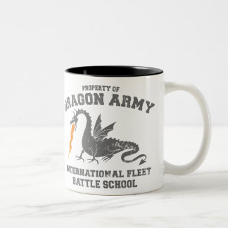 ender dragon army Two-Tone mug