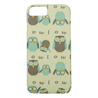 Energetic Owls iPhone 7 Case
