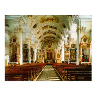 Engelberg, Roman Catholic Church Postcard