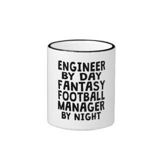 Engineer Fantasy Football Manager Ringer Mug
