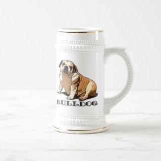 English Bulldog Beer stein Beer Steins