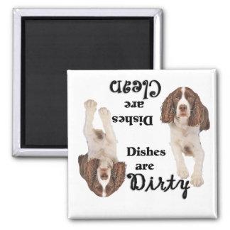English Springer Spaniel Lovers Dishwasher Magnet