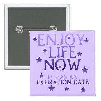 Enjoy Life Now Button
