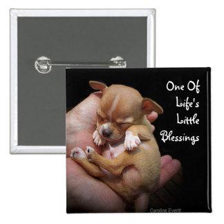 Enjoy Life's Little Blessings 15 Cm Square Badge