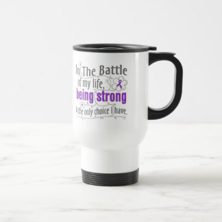 Epilepsy In The Battle Stainless Steel Travel Mug