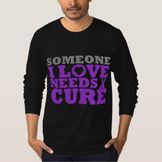 Epilepsy Someone I Love Needs A Cure Tshirt