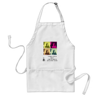 EQUALITY, I AM WOMAN STANDARD APRON