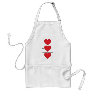 Equals LOVE apron