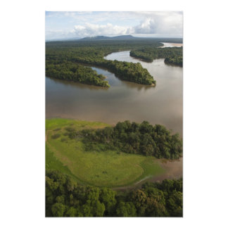 Essequibo River, longest river in Guyana, and Photo