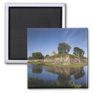 Estonia, Western Estonia Islands, Saaremaa 2 Square Magnet