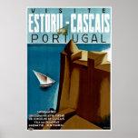 Estoril-Cascais in Portugal Poster