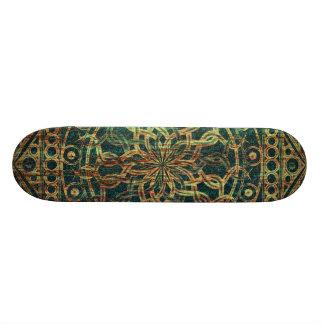 Eternity Mandala Weathered 21.6 Cm Old School Skateboard Deck