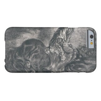 Eugene Delacroix - Wild Horse Felled by a Tiger Barely There iPhone 6 Case