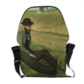 Eugene Manet (oil on canvas) Courier Bag