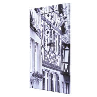 Europe, Germany, Rhineland, Pfalz, Boppard. Half Stretched Canvas Print