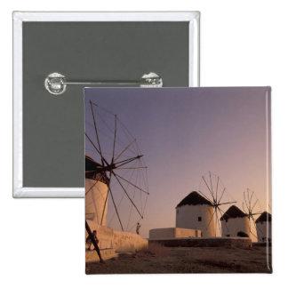 Europe, Greece, Cyclades Islands, Mykonos, 15 Cm Square Badge