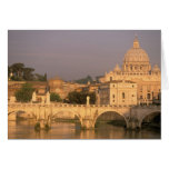 Europe, Italy, Rome, The Vatican. Basilica San Greeting Card