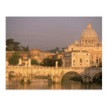 Europe, Italy, Rome, The Vatican. Basilica San Postcard