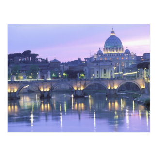 Europe, Italy, Rome, The Vatican. St. Peter's & Postcard