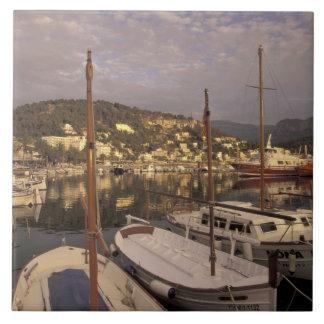 Europe, Spain, Balearics, Mallorca, Port de Large Square Tile