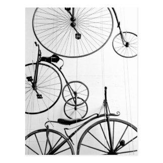 Europe, Switzerland, Lucerne. Bicycle display, Postcard