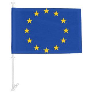 European Union car window flag   EU Europa Car Flag