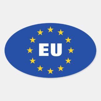 European Union flag stickers | Customizable EU